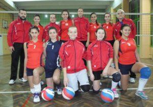 Волейболистките от Бургас 2007