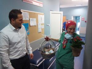 Медсестра Таня Йорданова току що е излязла от операция в Лайф хоспитал