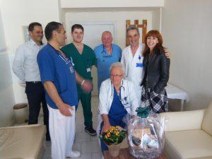 Д-р Васил Керанов с екипа си